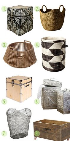 basket+container+roundup copy by coco+kelley, via Flickr
