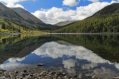 Beautiful Mirror Lake, near Tincup, Co.