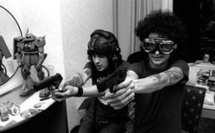 See The Mars Volta pictures, photo shoots, and listen online to the latest music. The Mars Volta, Cedric Bixler Zavala, Omar Rodriguez Lopez, Danzig, Latest Music, Photoshoot, Black And White, Image, Stoner
