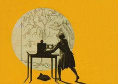 linterna-magica de Edison-- En 1891 se presenta el Kinetoscopio, inventado por Thomas Alva Edison. Aparato destinado a la visión individual de bandas de imágenes sin fin pero que no permitía su proyección sobre una pantalla.jpg (2087×1492)
