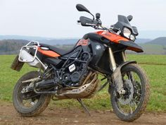 bmw f800gs in the field