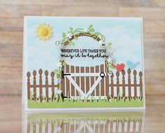 Introducing: Garden Arbor, Frame in Frame, and New Embossing Folders
