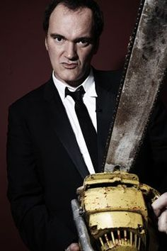 Tarantino, sometimes you just have to see his movies to see just how bizarre his creativity is.