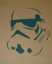 Znalezione obrazy dla zapytania stencil star wars