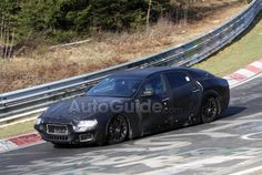 Maserati at the Nurburgring ... cannot wait to see it without it's wrap!