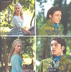 Cinderella... his facial expressions!!!