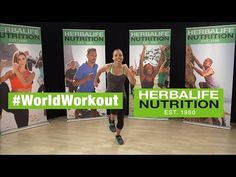 Herbalife World Record Workout Routine | #WorldWorkout - March 7 2015 - YouTube