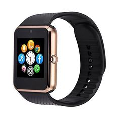 vpro gt11 Smart Watch Notifier with Sim Card Bluetooth Connectivity, Gold   Smart watch gt08 android fitness waterproof connecter sim card clock Bluetooth iPhone android smartwatch phone specifications cpu: 533mhz mtk6260a memory:12