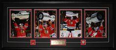 2015 Chicago Blackhawks Stanley Cup Champions 6 Photograph Frame Jonathan Toews Patrick Kane Corey Crawford Brent Seabrook