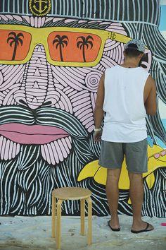 Mulga the Artist First Art, Mural Painting, Freelance Illustrator, Time Art, Street Artists, Retro, Drawings, 2d, Artwork