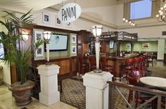 Panini Restaurant & Lounge at the Holiday Inn Orange County Airport.