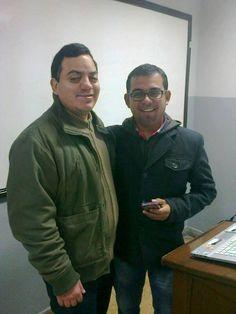 Freddie Armando Romero y Pável Ugaz de Epensa. (2013)