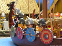Viking Longship -  Playmobil Style 24 Feb. 2013