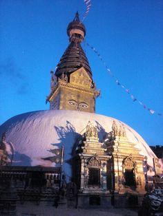 Historical swoyambhunath temple ,world heritage site.