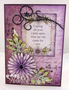 Heartfelt Creations | Cast Your Cares
