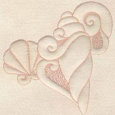 Trapunto Seashells
