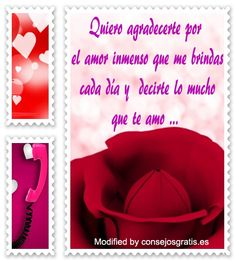 textos de amor para mi whatsapp,palabras originales de amor para mi pareja: http://www.consejosgratis.es/poemas-de-amor/
