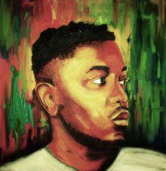 Kendrick Lamar Fine Art Music Art Hip Hop Rap by MaddenandMitzi, $12.00