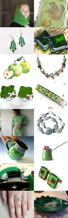 Green with Goodness by Diane Waters on Etsy--Pinned with TreasuryPin.com