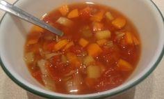 Recette: Soupe aux légumes.