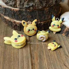buy popular d7d86 258b4 Polymer clay pikachu charms 💛⚡ I m so ready for detective pikachu! Can