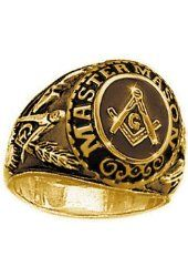 Image result for two tone freemason ring
