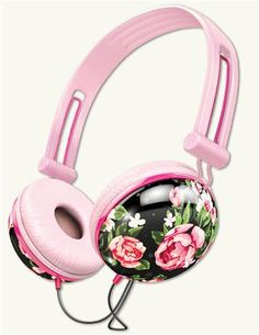 These floral noise-cancelling headphones are music to your ears and a sight for sore eyes.