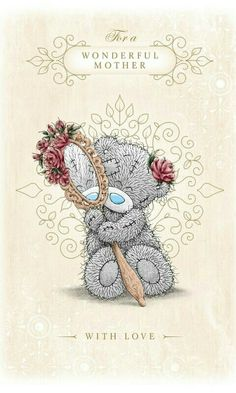 Mother's Day Background, House Mouse Stamps, Teddy Bear Pictures, Mother Day Wishes, Blue Nose Friends, Bear Valentines, Love Bear, Tatty Teddy, Cute Teddy Bears