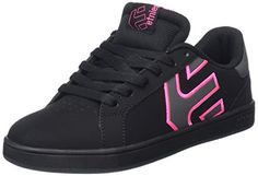 Etnies Womens FADER LS WS Women's Skateboarding Shoesing Shoe BlackDark Grey 7 M US *** See this great product.