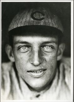 Frank Schulte Type 1 photo by Paul Thompson used for his tobacco card Lee Jeffries, Chicago Cubs, Type 1, Photos, Pictures