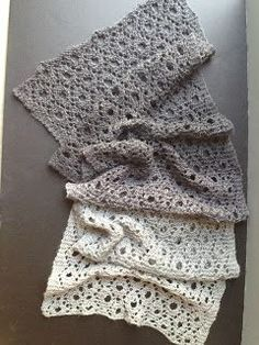 Olives and Mermaids and Wine, oh my...: Reversible Circles of Lace.