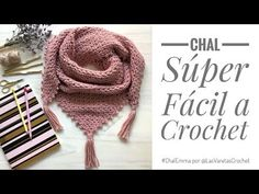 Chal a Crochet & Chal Tejido Paso a Paso Crochet Shawl & Step by Step Knit Shawl The post Crochet Shawl & Step by Step Knit Shawl appeared first on Home. Knitted Shawls, Crochet Shawl, Crochet Stitches, Learn How To Knit, How To Start Knitting, Knitting Patterns, Crochet Patterns, Crochet Diy, Embroidered Clothes