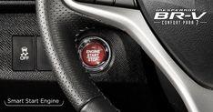 Con Smart Start Engine* comienza tu aventura sin necesidad de la llave, oprimiendo un solo botón. #InesperadaBRV