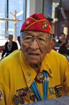 Navajo Code Talker Dan Akee