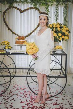 Vestido de Noiva para mini wedding {casamento civil}