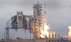 SpaceX rocket blasts off from NASA launchpad