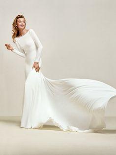 Vestidos de novia temporada invierno