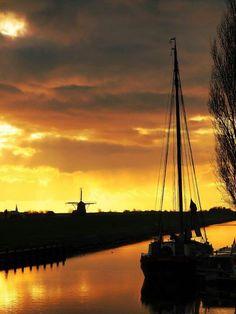 Workum, Friesland.