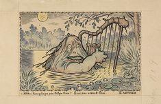 """Theodor Kittelsen, «""""Nøkken han sjunger paa Bøljen blaa""""»"""