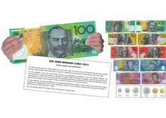 Take Note - Australian Money Large in format (more than 3 times larger than real money), this information pack on Australian currency will provide a valuable and informative resource for every classroom.