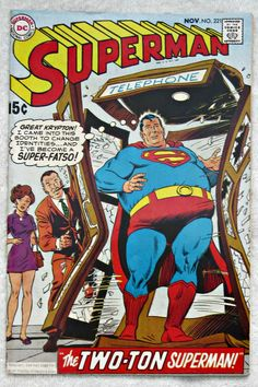 Superman #221 (Nov 1969, DC) Fine 6.0