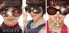 Hi guys! Its Ally Carter Weekend! I have already read these three books (Heist Society, Uncommon Criminals, and Prefect Scoundrels.) I am just re-pinning the series together. I love Ally Carter's books she is a very good writer I recommend people read this if they like #Adventure #Gripping #Light-hearted books. I have nothing bad to say about this series I just wish it went on longer! (Also check out the Gallagher Girls series by Ally Carter if you love spy books!)