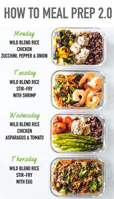 Easy Healthy Meal Prep, Best Meal Prep, Meal Prep Plans, Vegan Meal Prep, Lunch Meal Prep, Meal Prep Bowls, Easy Healthy Recipes, Healthy Cooking, Lunch Recipes