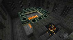 A really cool Minecraft PE seed. Just dive into the well in the village over the river from spawn point and u r ther!!!