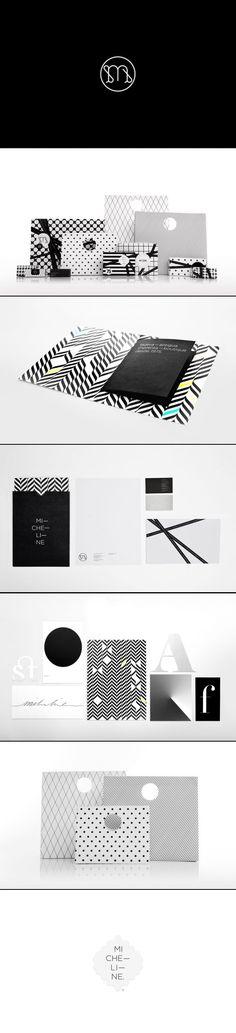 Micheline | Anagrama stellar in black and white #packaging #branding