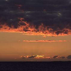 Flaming sky by sassik