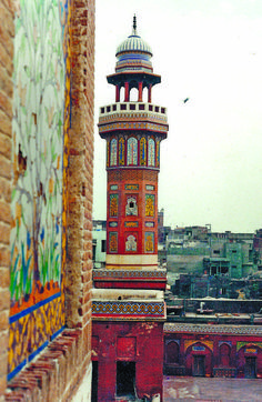 Minar Wazir khan Mosque, Lahore by Pakistan Pakistan Zindabad, Pakistan Travel, Delhi India, New Delhi, Pakistan Pictures, Pakistani Culture, Indian Architecture, Beautiful Architecture, Beautiful Mosques