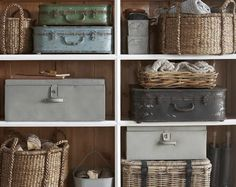 Vintage Storage and Organization Ideas