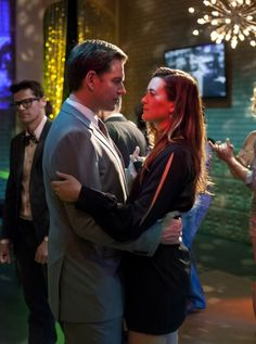 """""""Berlin"""" Season 10 Episode 21  While the NCIS team investigates the murder of a Mossad officer in Virginia, Tony (Michael Weatherly) and Ziva (Cote de Pablo) depart for Berlin as they track her father's killer, on NCIS, Tuesday, April 23 (8:00-9:00 PM, ET/PT) on the CBS Television Network. Photo: Richard Foreman/CBS ©2013 CBS Broadcasting, Inc. All Rights Reserved."""