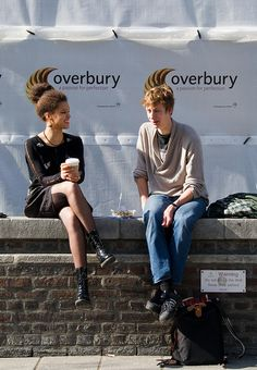 New hairstyles for SOAS students by Renate's mate, via Flickr